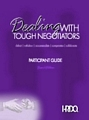 Dealing With Tough Negotiators Assessment